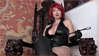 Leather, Train, Leather mistress, Pov solo, Leather solo, Mistress pov