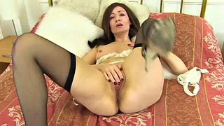 Nylon, Neighbour, British mature, 30, Mature nylon, Milf nylon