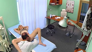 Pussy licking, Patient, Checking, Pussy lick orgasm, Doctor check