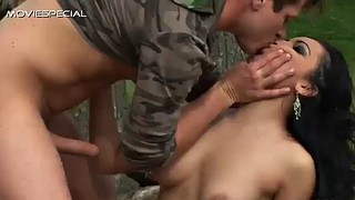 Patricia, Outdoor handjob, Rough handjob, Handjob outdoor, Sexy brunette, Outdoor rough