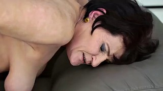 Grandma, Mature handjob, Mature blowjob, Mature facial, Mature hd, Granny facial