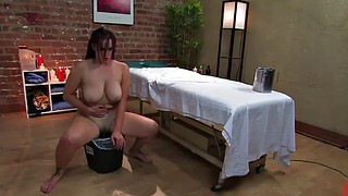Smoking, Massage anal, Anal massage, Big tit lesbian, Hot massage, Smoking anal
