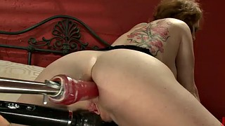 Machine, Best, Redhead milf, Shaving haed