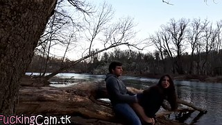 Caught watching, Public creampie, Www, Outdoor creampie, Caught sex, Public caught