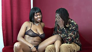 Monster, Cowgirl, Sugar, Ebony doggy, Chubby brunette, Black handjob