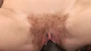 Small tits, Hairy blonde, Hairy bush, Interracial orgasm, Clips, Hairy cum
