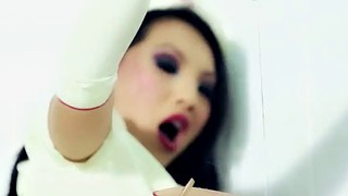 Insertion, Akira, Asian nurse, Nurse sex, Long hair sex, Asian nurses