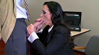 Nikki benz, Benz, Busty office, Office busty, Tits sucked, Start