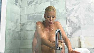 Alexis fawx, Fawx, Milf shower, Blond milf, Blonde shower, Haed