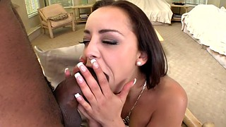 Blacked, Interracial, Monster cock, Liza, French ebony, French black