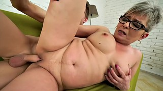Mature, Short hair, Fetish, Licking pussy, Chubby granny, Vintage mature
