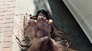 Foot worship, Worship, Asian feet, Asian foot, Ellie, Feet riding
