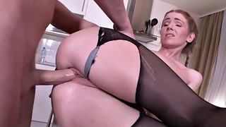 Seduce, College, English, Pigtails, College girl, Pantyhose fuck