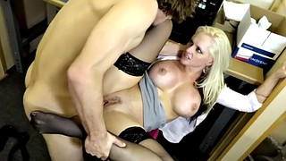 Office, Alena croft, Cougars, At work, Coworker, Young chubby