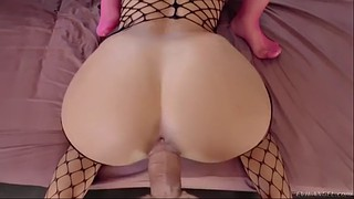 Feet, 3some, Claudia, Bodysuit, Riding orgasm, Big feet