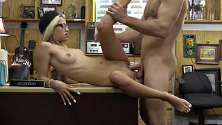 Married, Pay, Cheating creampie, Pawnshop, Riding creampie, Missionary creampie