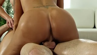 Chubby threesome, Face licking, Hot chubby, German tattoo, Blond milf, Chubby german