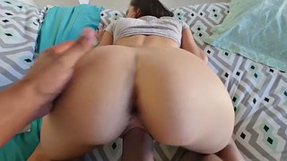 Cum on tits, Missionary pov, Riding pov, Stepbro, Stoned, Cum tits