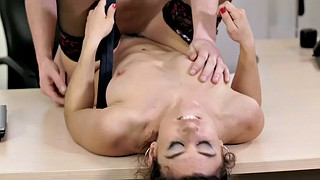 Hairy, Secretary, Julia, Spanish, Hairy pussy, Office secretary