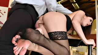 Chanel preston, Secretary, Chanel, Preston, Face riding, Lick feet