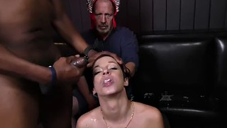 Jada stevens, Jada, Black threesome, In front of, Interracial cuckold, Interracial threesome