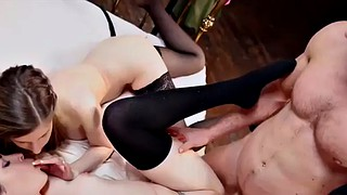 Stella cox, Two girls, Cox, Face riding, Two girls blowjob, British threesome