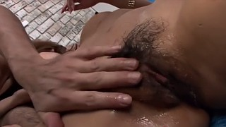 Japanese threesome, Missionary creampie, Japanese fuck, Japanese doggy, Japanese oil, Japanese double