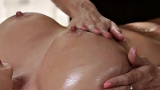 Oil, Big busty, Busty massage, Tit massage, Big tits hd, Massage busty