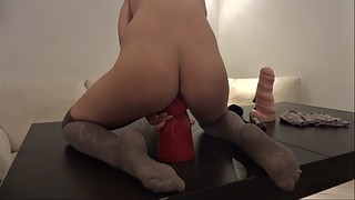 New, Amateur fisting, Fisting solo, Dildo anal solo, Solo fisting, Solo dildo anal