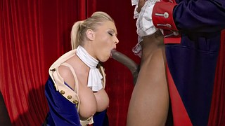 Katie morgan, Theater, Stage, Blacks on blondes, Sucking bbc, Morgan