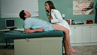 Abigail mac, J mac, Patient, Abigail, Big tits handjob, Doctor and patient