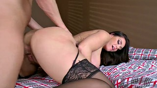 Alison tyler, Alison, Pounding, Ebony doggystyle, Ebony stockings, Alison t