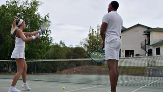 August ames, August, Tennis, Ames, Flirting, Flirt