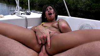 Cowgirl, Penny, Screaming anal, Yacht, Teen latina, Nichole