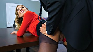 Secretary, Pussy licking, Clothes, Giselle palmer, Giselle, Cloth