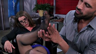 Little, Bunny, Office secretary, Office feet, Freedom, Pretty feet