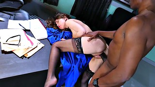 Ebony, Monster, Riley reid, Monster cock, Reid, Monster black cock