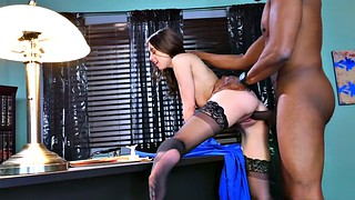 Ebony, Monster, Monster cock, Riley reid, Reid, Monster black cock