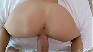 Milf mom, Quickie, Brooke, Missionary pov, Quicky, Mom facial
