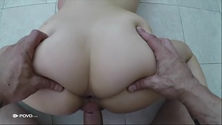 Missionary pov, Handjob pov, Beautiful pussy, Winter, Hairy shower, Pov hairy