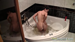Squirting, Bathtub, Squirting solo, Milf squirting, Girl pee, Squirt milf