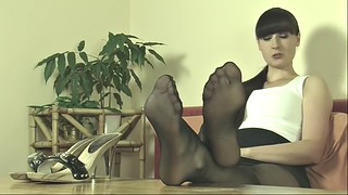 Feet, Nylon feet, Mistress feet, Pantyhose joi, Feet mistress, Feet nylon