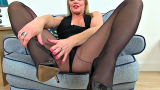 Nylon, British mature, Uk, Next door, Mature nylon, Nylon fetish