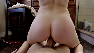 Small dick, Riding creampie, Step bro, Big tits creampie, Pov step, Hairy pov