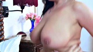 Sheridan love, Sheridan, Curly, Curly hair, Chubby blowjob, Brunette milf