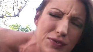Big tits redhead, Licking cock, Middle, Small tits big cock