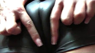 Leather, Camel toe, Camel, Leather solo, Toes joi, Delicious