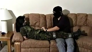 Tied, Tickle, Army, Tickled, Tickle girl, Army girl