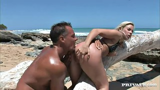 Rough, Beach, Beach sex, Throated, Bikini beach, Sex beach