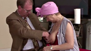 Grandma, German mature, Mature blowjob, Grandfather, German granny, Grandmas